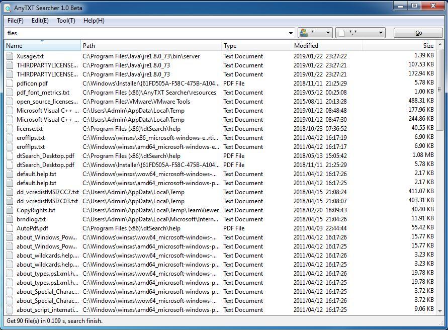 anytxt desktop searcher